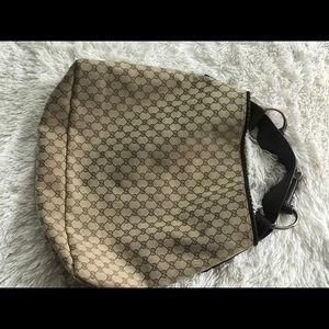 Gucci oversized horsebit hobo bag